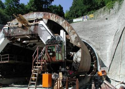 Schalwagen Tunnel